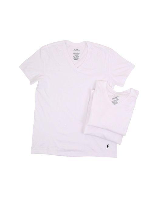 Polo Ralph Lauren | White 3-pack V-neck T-shirt for Men | Lyst