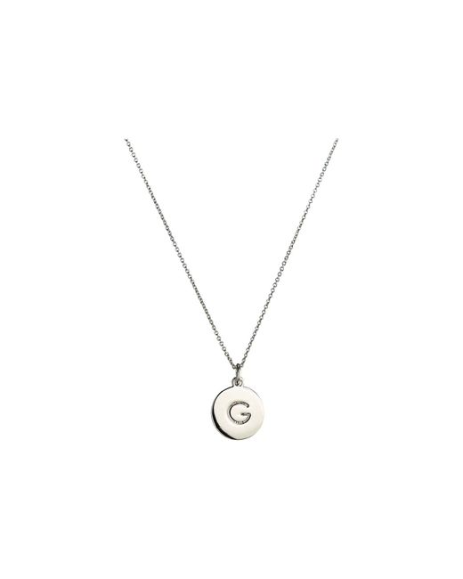 Kate Spade Metallic One In A Million Initial Pendant Necklace