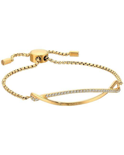 Michael Kors - Metallic Wonderlust Slider Bracelet (gold) Bracelet - Lyst