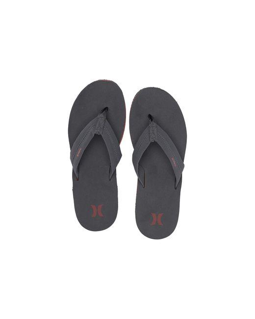 Hurley Gray Lunar Sandal for men