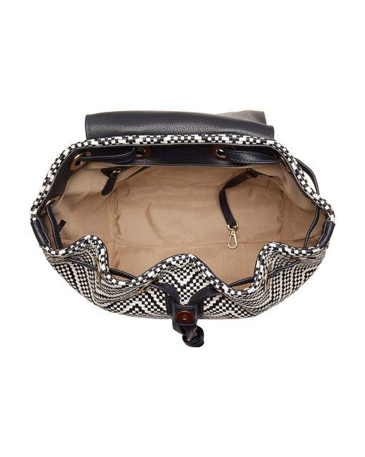 7b6e15e07a33b8 ... MICHAEL Michael Kors - White Junie Medium Flap Backpack  (acorn/butternut) Backpack Bags ...