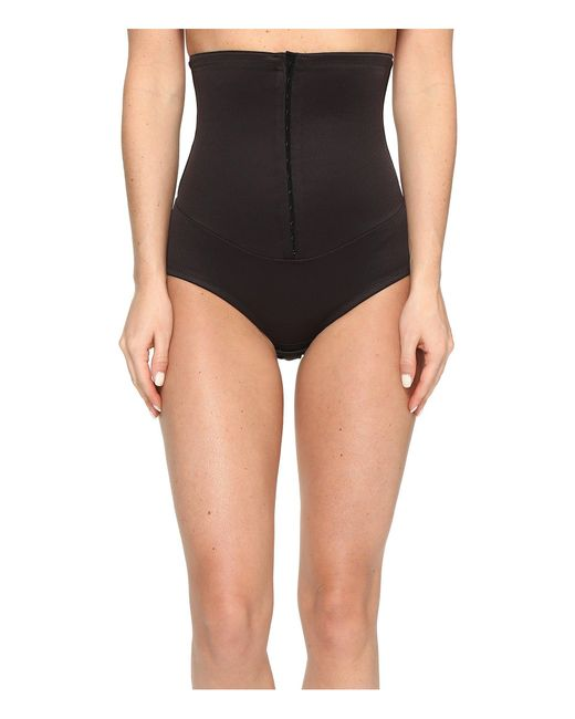 Miraclesuit | Black Inches Off Hook & Eye Waist Cinching Brief | Lyst