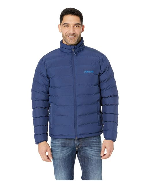 Marmot Blue Men's Alassian Featherless Jacket for men