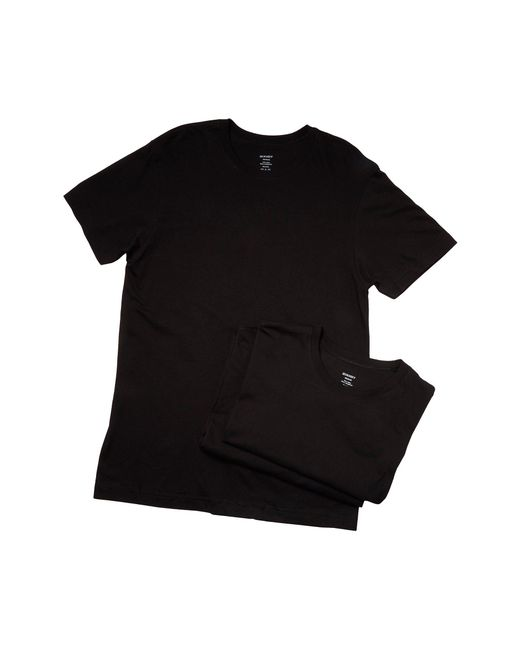 2xist | Black 3-pack Essential Crew Neck T-shirt for Men | Lyst