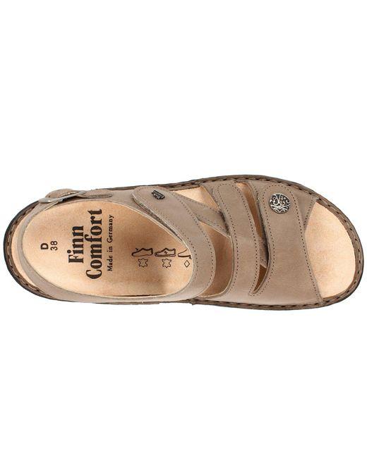 92ead0a9354dbe Lyst Finn Comfort Gomera 82562 Black Leather Women S Sandals