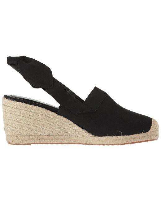 64ad49cbbda Lyst - Lauren by Ralph Lauren Helma (black Linen) Women s Shoes in Black
