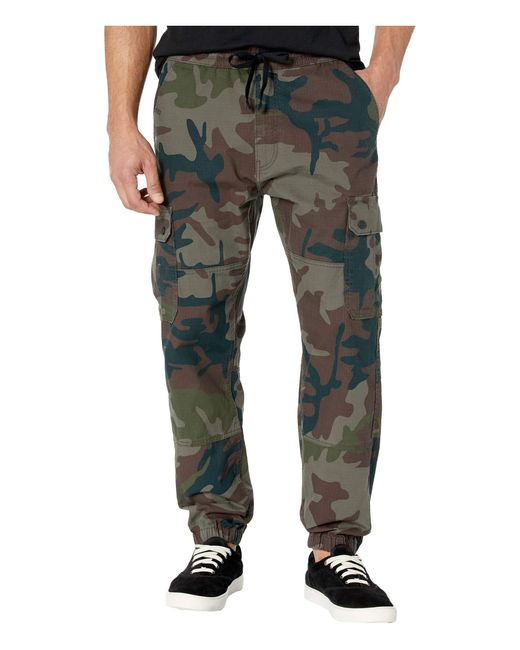 Levi's Green Levi's(r) Mens Aviator Cargo Jogger for men