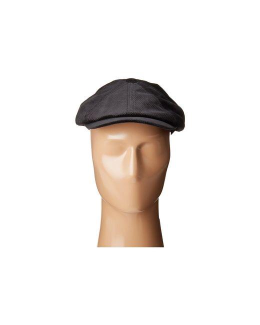 e22f27a5913 ... Bailey of Hollywood - Wyman (black) Caps for Men - Lyst ...