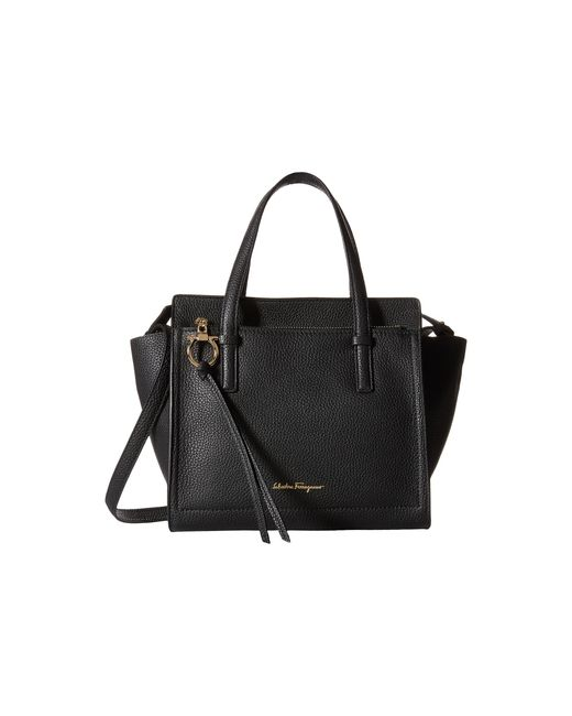 Ferragamo - Black Amy Shoulder Bag  - Lyst