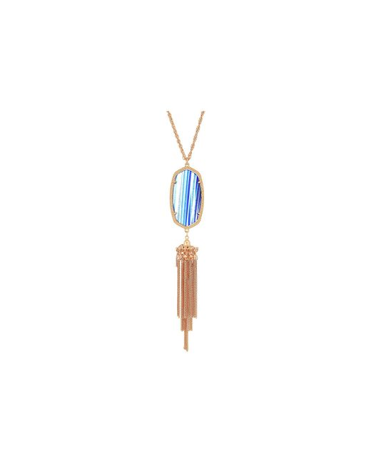 Kendra Scott - Multicolor Rayne Necklace - Lyst