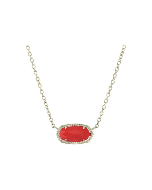 Kendra Scott | Multicolor Elisa Pendant Necklace | Lyst