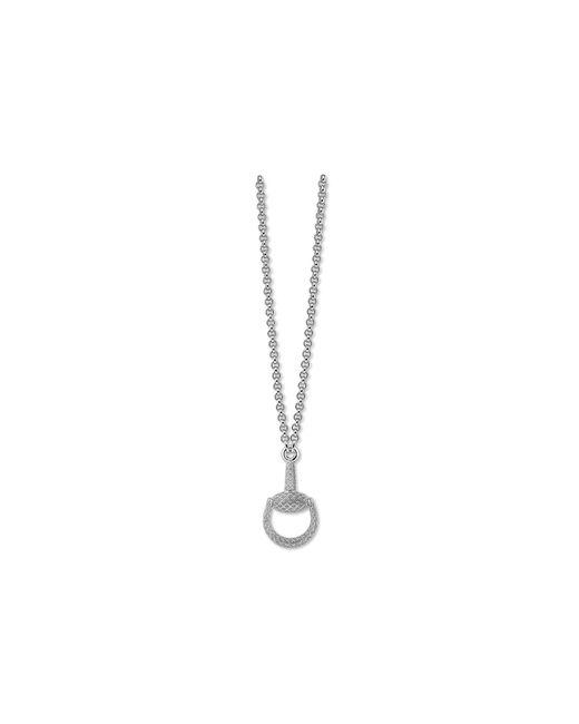 Gucci | Metallic 55cm Horsebit Light Necklace | Lyst
