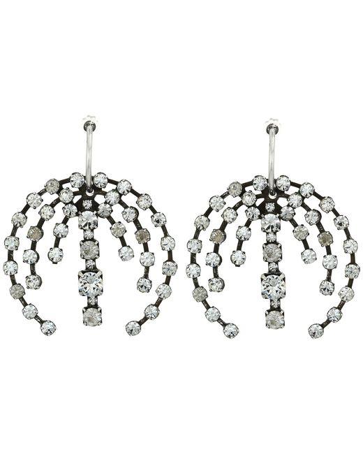 DANNIJO   Metallic Axial Earrings   Lyst