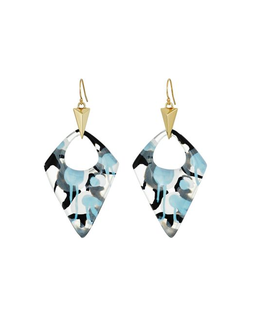 Alexis Bittar | Multicolor Pointed Pyramid Drop Earrings | Lyst