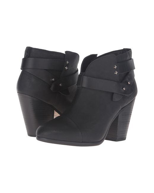 Rag & Bone | Black 'harrow' Leather Boot | Lyst