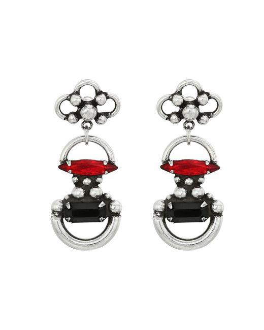 DANNIJO   Metallic Bombay Earrings   Lyst