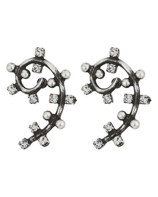 DANNIJO | Metallic Kirk Earrings - Zappos Luxury Exclusive | Lyst