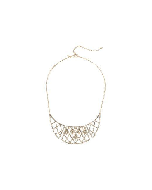 Alexis Bittar   Metallic Crystal Encrusted Liquid Silk Strand Necklace   Lyst
