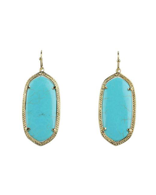 Kendra Scott - Blue Elle Earring - Lyst