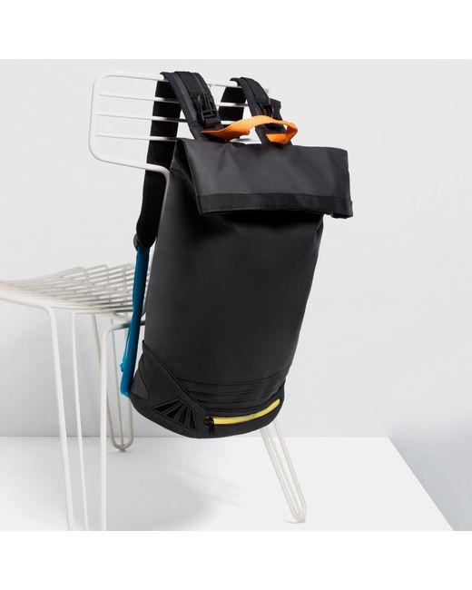 Zara Fabric Kit Bag Backpack In Black For Men Lyst