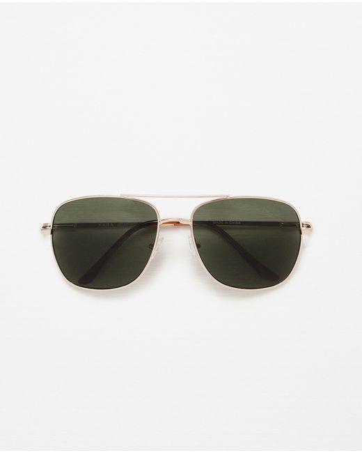 Zara Glasses Frames : Zara Metallic Frame Glasses in Multicolour for Men Lyst