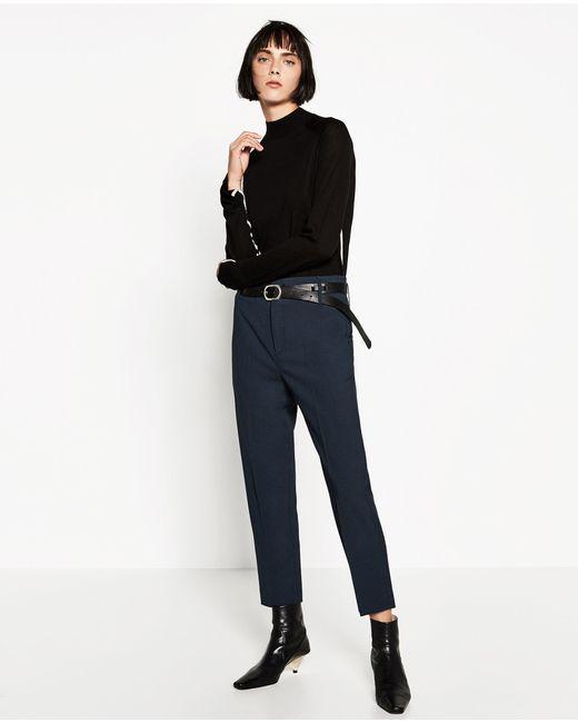 Zara Black High Neck Sweater 97