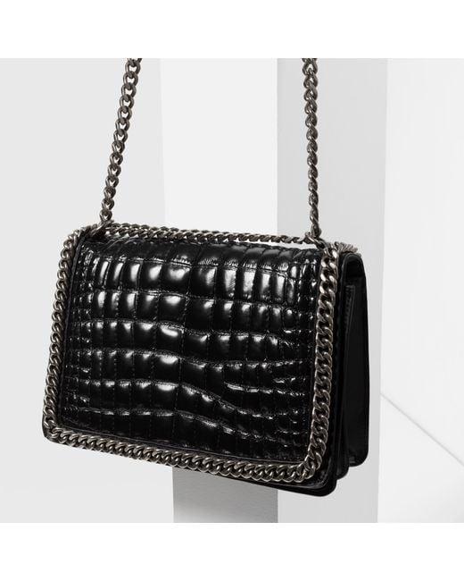 Zara Chain City Bag In Black Lyst