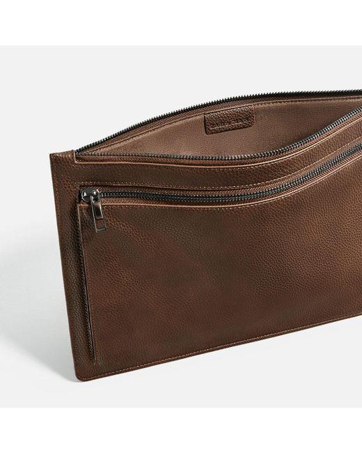 Man Cave Urban Zara : Zara urban portfolio in brown for men lyst