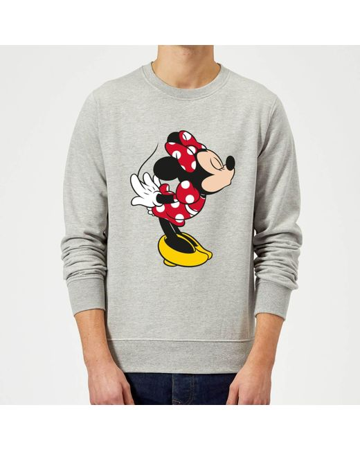 Disney Femme Minnie Mouse Distressed Face Sweat-Shirt
