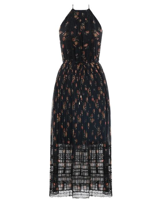 Zimmermann - Black Tempest Pleat Picnic Dress - Lyst