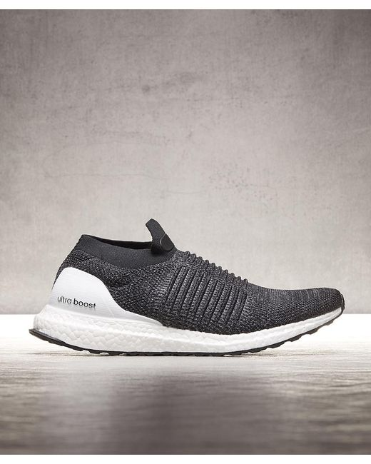 adidas Men's Black Ultra Boost Laceless Trainer