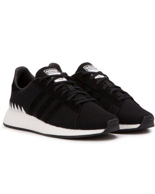 adidas Originals Men's Black Chop Shop Sneakers