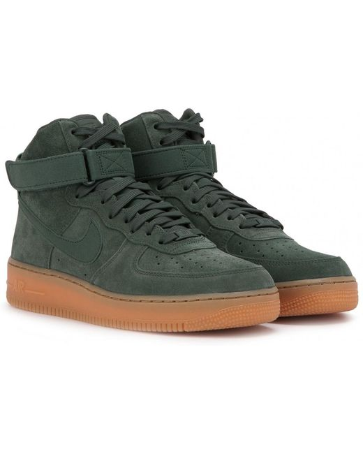 Nike Men's Natural Air Force 1 High '07 Lv8 Suede