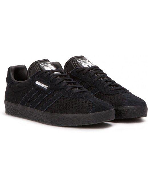 adidas Originals Men's Black Adidas X Nbhd Gazelle Super