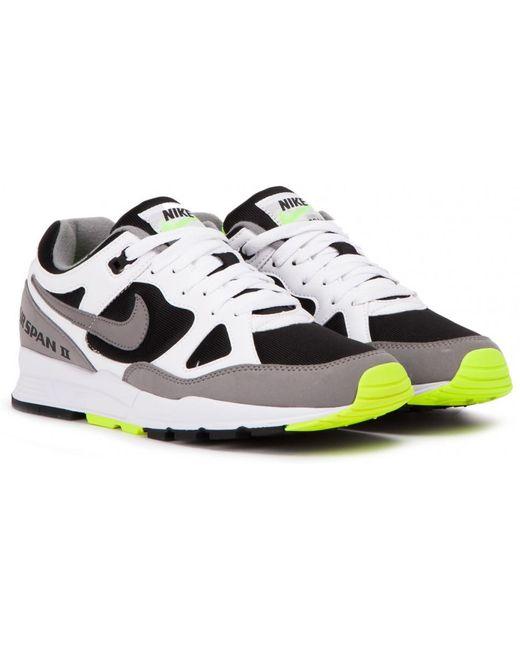 Nike Men's White Nike Air Span Ii