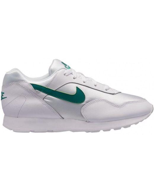 Nike Men's White Nike Wmns Blazer Low Prm