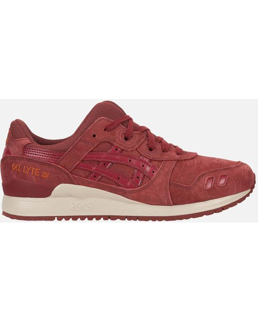 Asics Men's Brown Gel-lyte Iii Trainers