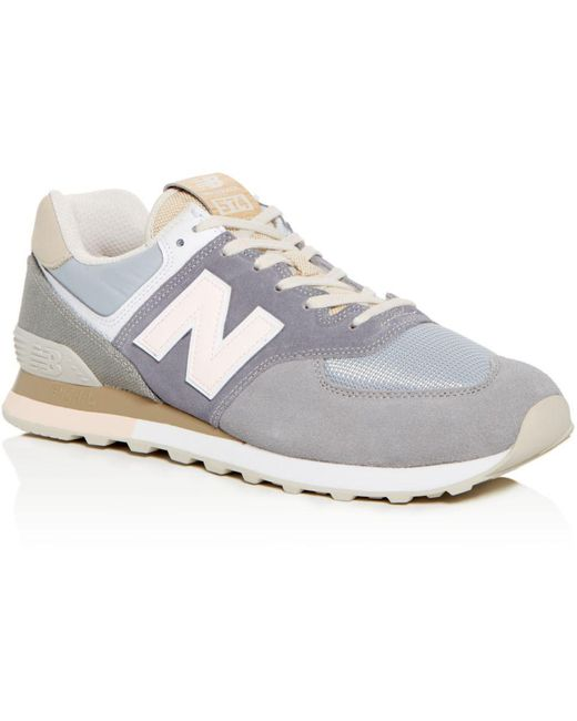 New Balance Natural Men's 574 Vintage Surf Hemp Lace Up Sneakers