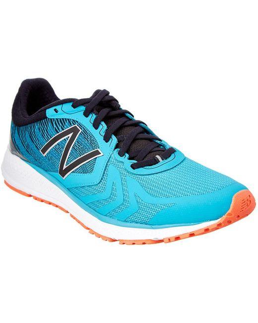 New Balance Blue Men's Performance Running Sneaker