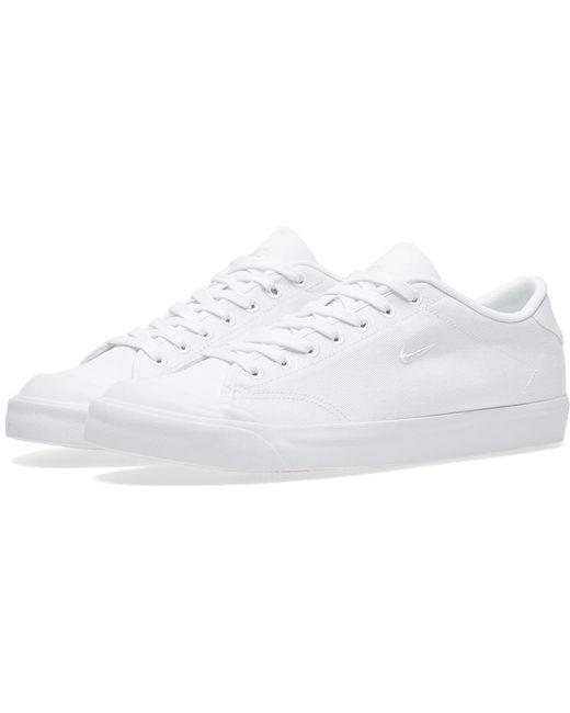 Nike Men's White Classic Cortez Leather