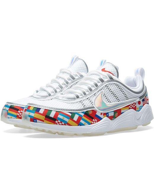 Nike Men's Metallic Air Zoom Spiridon '16 Sneakers
