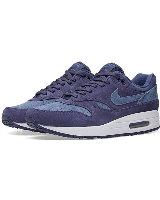 Nike Men's Purple Air Max 1 Premium