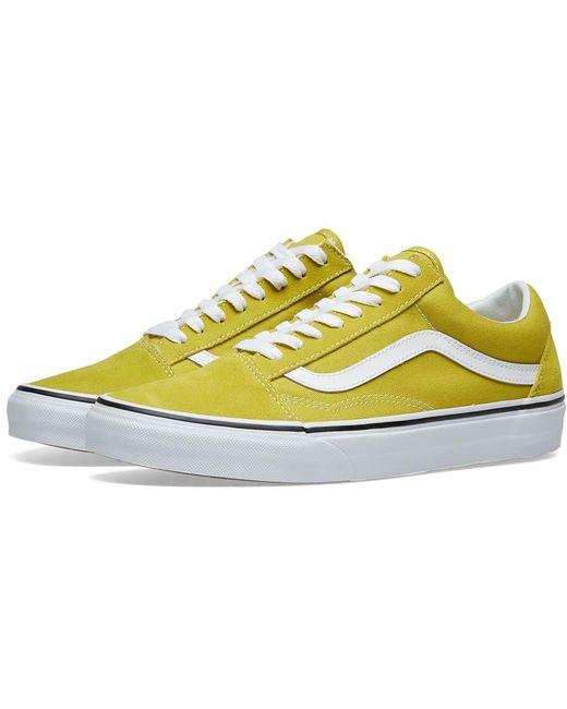 Vans Men's Yellow Old Skool