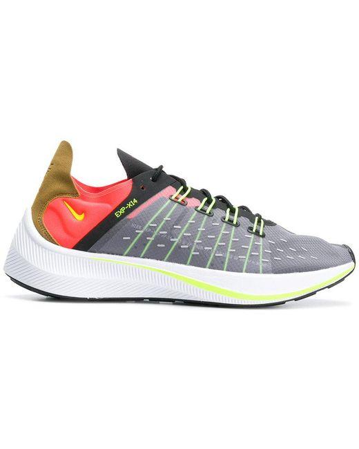 Nike Men's Black Exp-x14 Sneakers