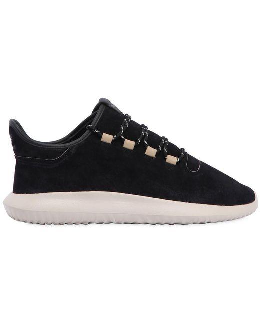 adidas Originals Men's Black Tubolar Shadow Sneakers