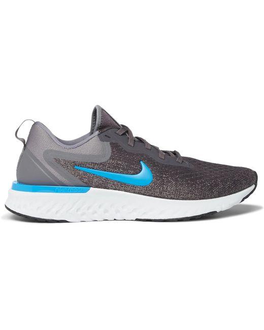 Nike Men's Blue Odyssey React Flyknit Sneakers