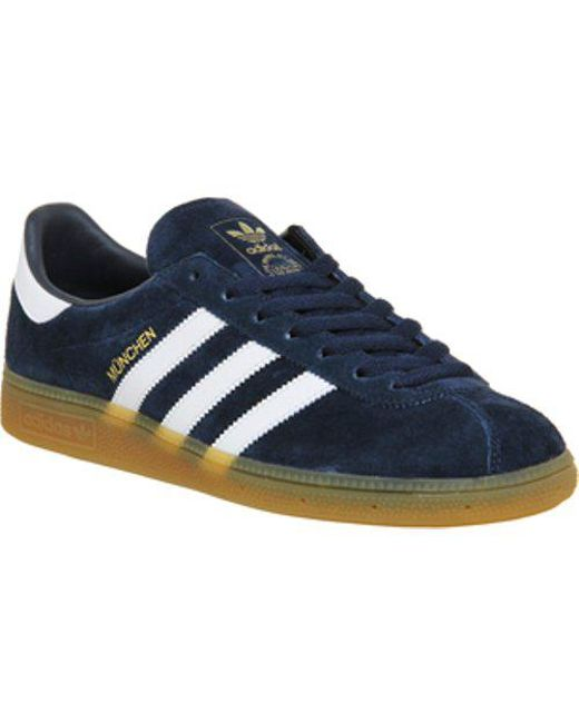 adidas Men's Black Munchen