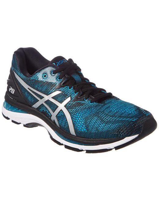 Asics Men's Black Gel-nimbus 20 Running Shoe