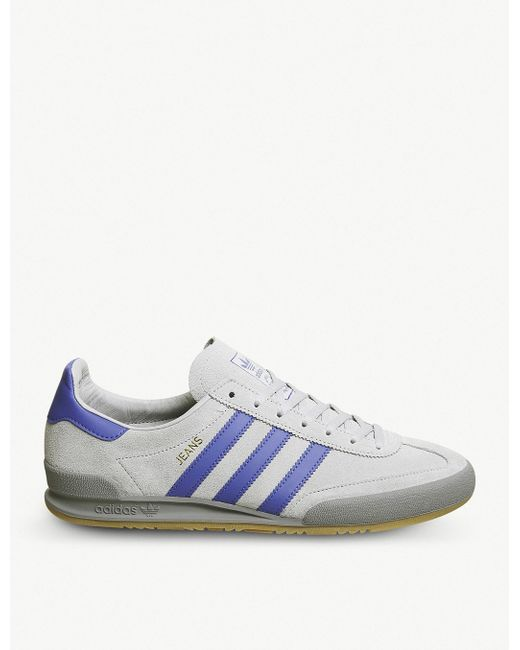 adidas Men's Green Jeans Suede Trainers