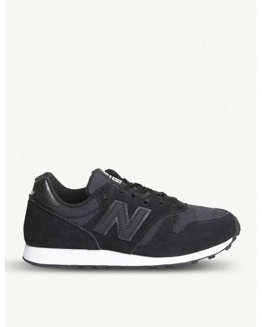 New Balance Men's Gray Wl373 Suede Trainers